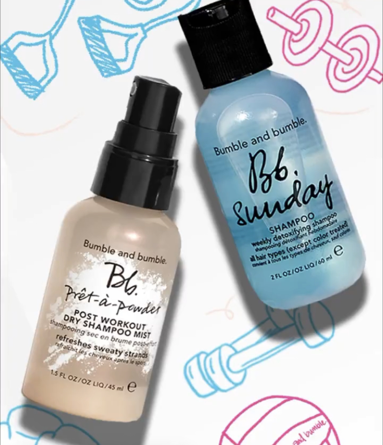 Bumble and Bumble Sweat Fearlessly Gift Set