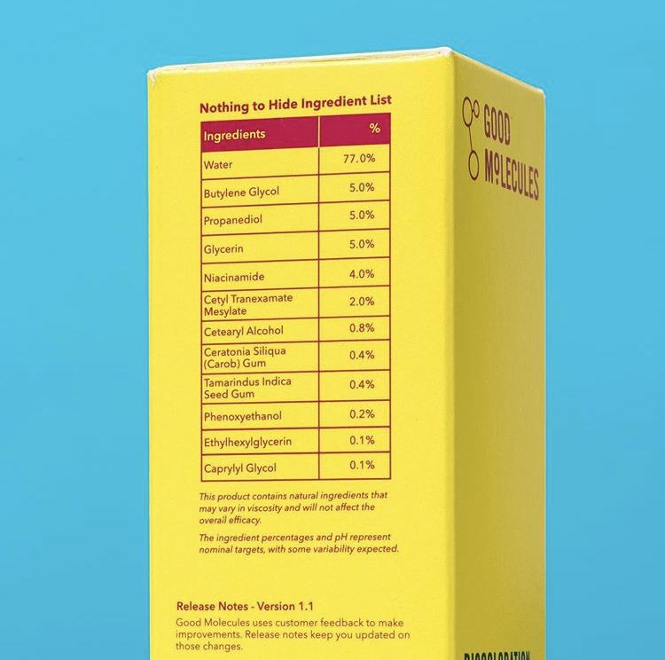 Good Molecules Discoloration Correcting Serum
