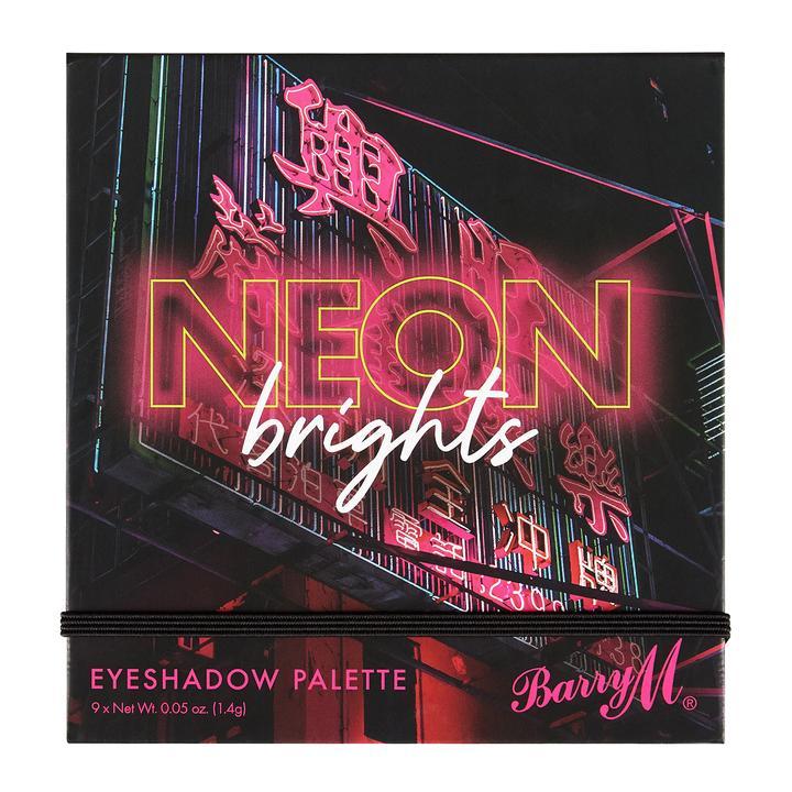 Barry M Cosmetics Neon Lights Eyeshadow Palette