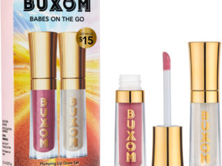 Buxom Babes On The Go Plumping Lip Gloss Set