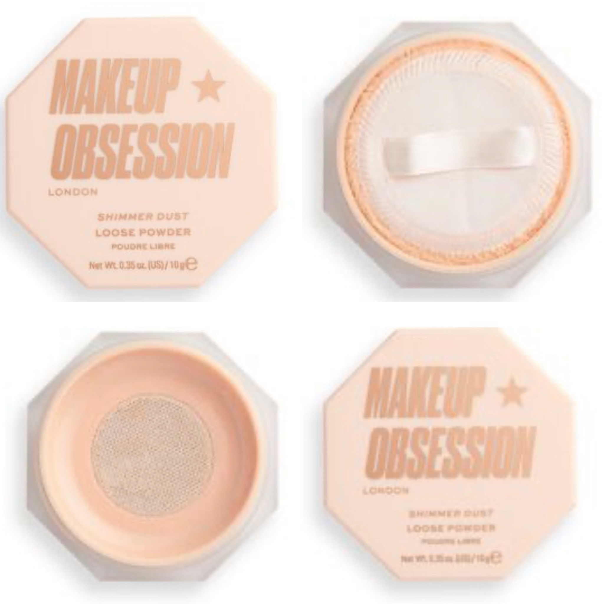 Makeup Obsession Shimmer Dust Loose Powder