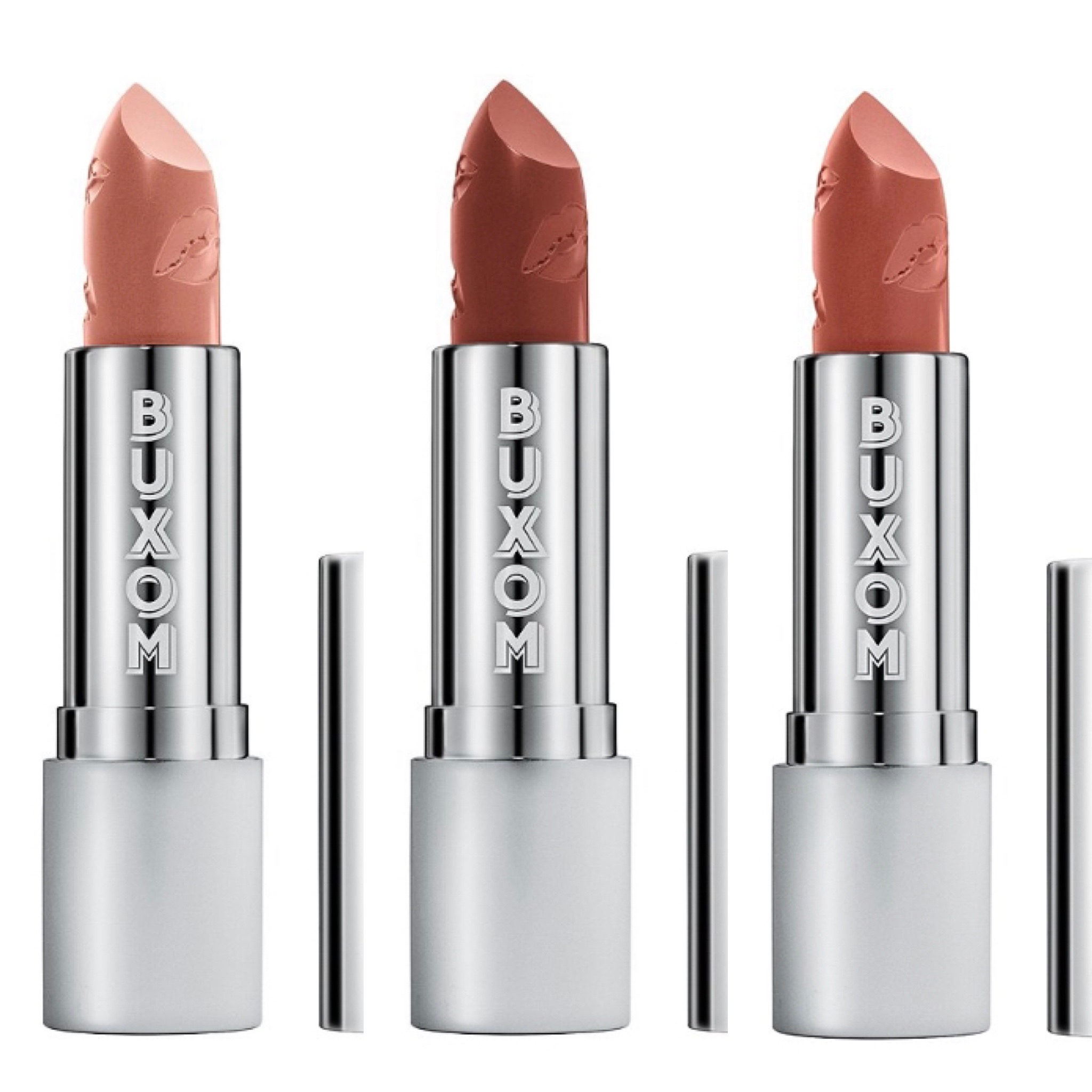 Buxom 90s Nude Full Force Plumping Lipstick Collection