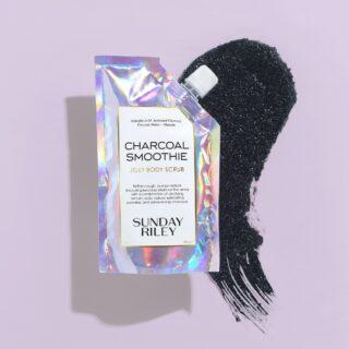 Sunday Riley Charcoal Smoothie Jelly Body Scrub
