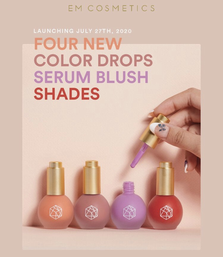 Em Cosmetics Color Drops Serum Blush