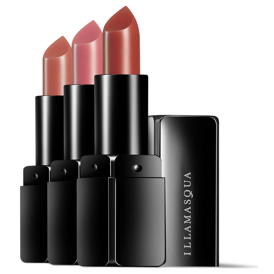Illamasqua Sheer Veil Lipstick Collection