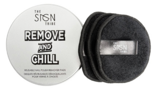 The Sign Tribe Remove and Chill Reusable Nail Polish Remover Pads
