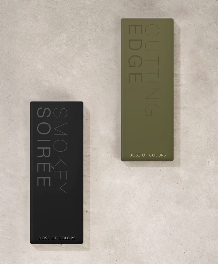 Dose of Colors Cutting Edge and Smokey Soirée Eyeshadow Palettes