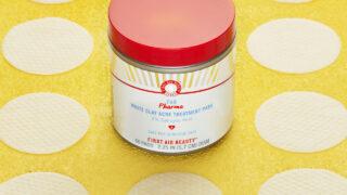 First Aid Beauty Pharma White Clay Acne Treatment Pads