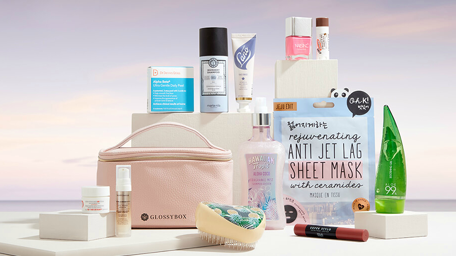 Glossybox Summer Essentials Kit July 2020