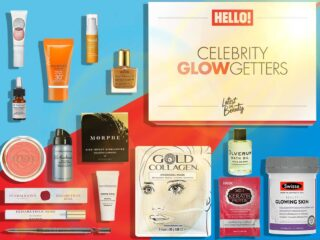 Latest In Beauty x Hello Celebrity Glow Getters Beauty Box