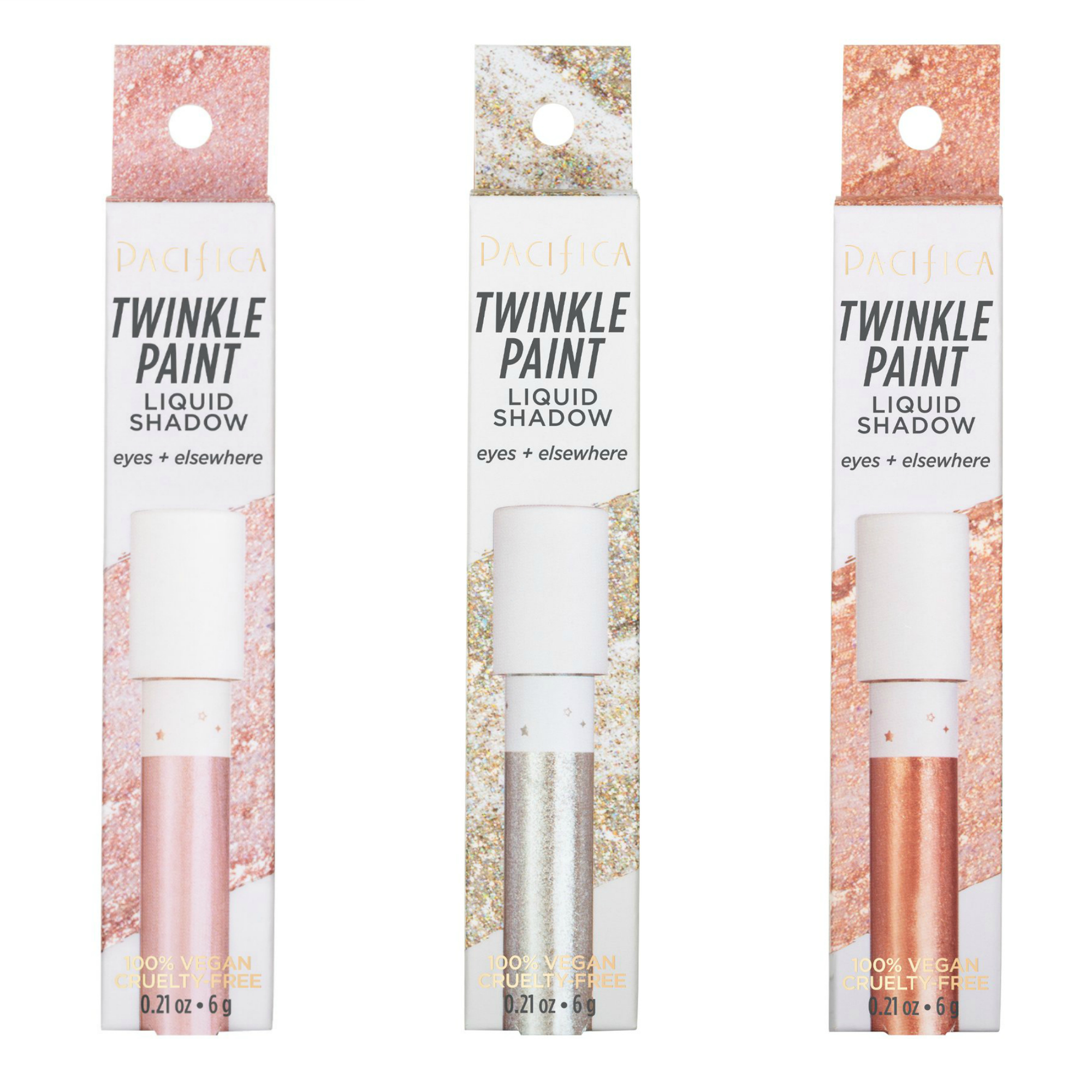 Pacifica Twinkle Paint Liquid Shadow