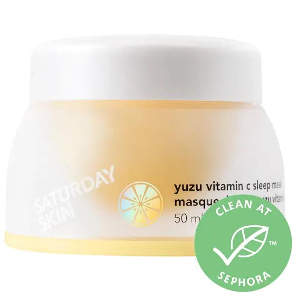 Saturday Skin Yuzu Vitamin C Sleep Mask 1