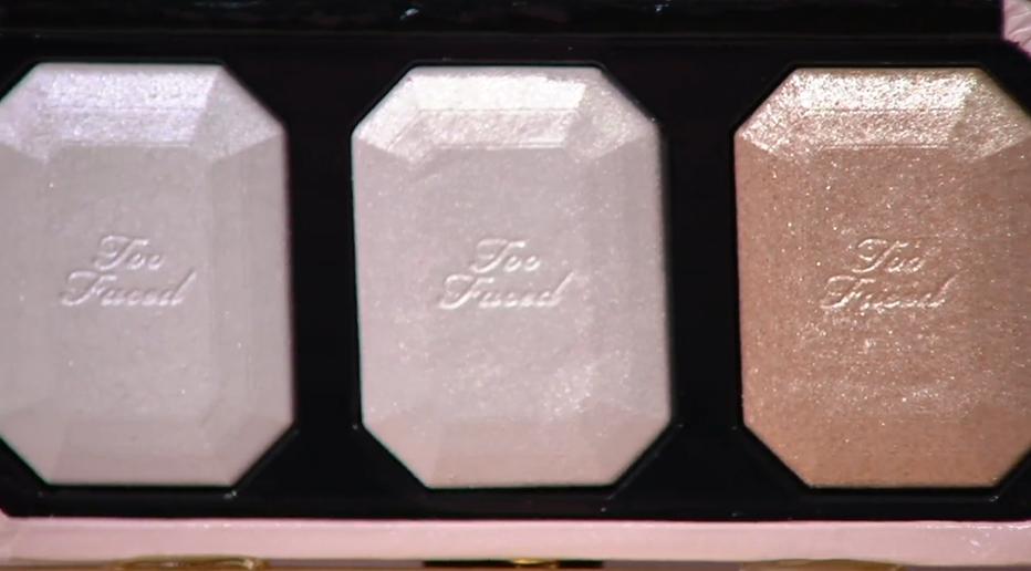 Too Faced Diamond Light Highlighter Trio Palette