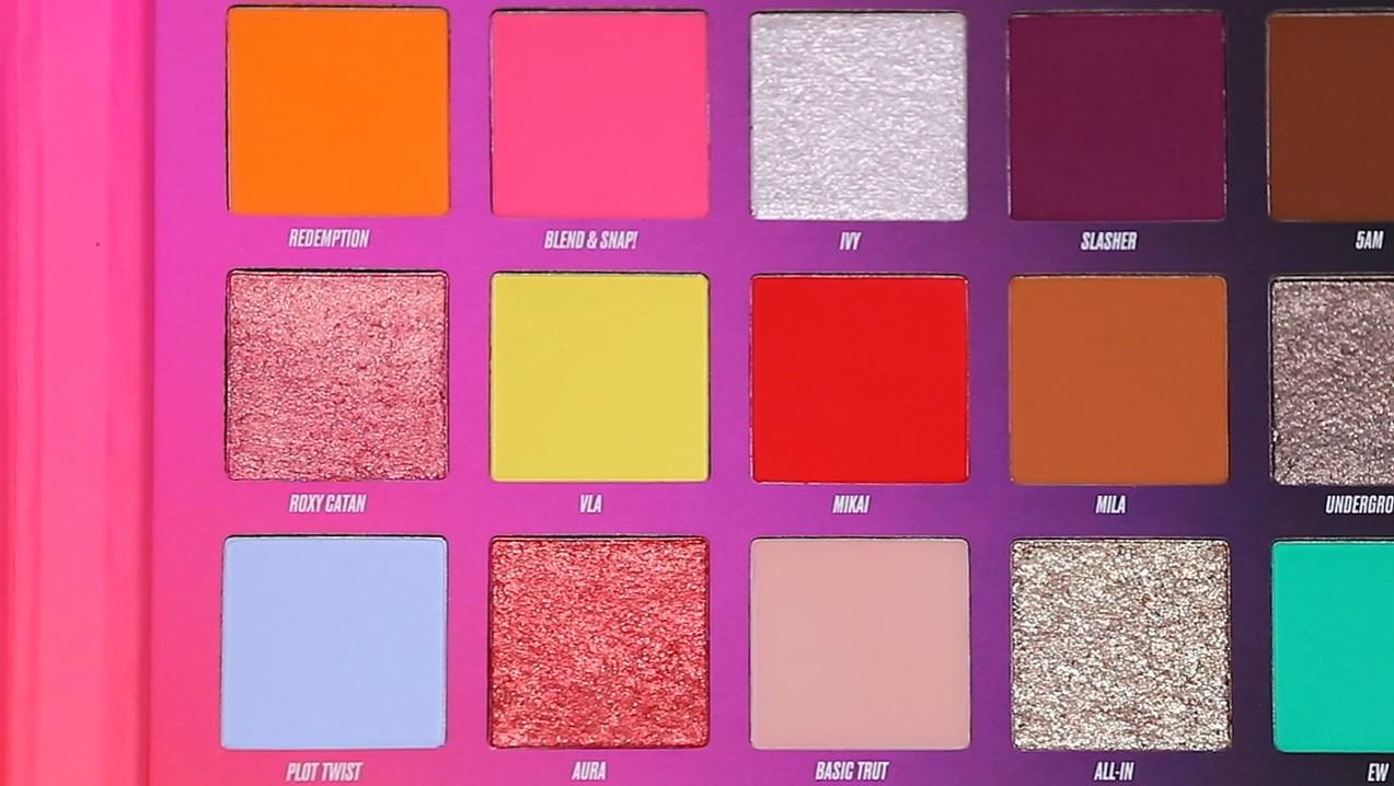 Nikkie Tutorials x BEAUTY BAY Pressed Pigment Eyeshadow Palette