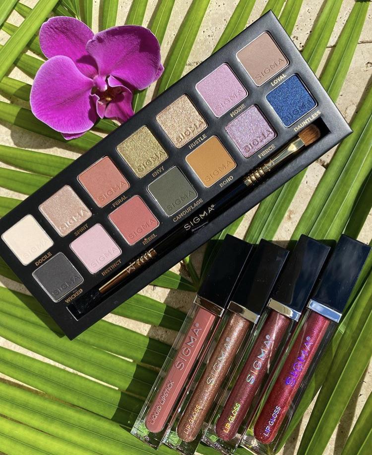 Sigma Beauty Untamed Eyeshadow Palette