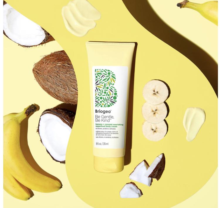Briogeo Be Gentle Be Kind Banana + Coconut Nourishing Superfood Body Cream
