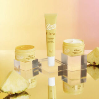 Boots Glow Pineapple Skincare Collection