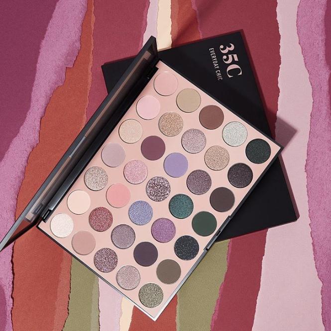Morphe 35C Everyday Chic Artistry Palette