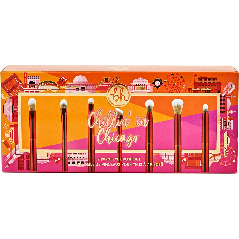 BH Cosmetics Chillin' In Chicago 7 Piece Brush Set