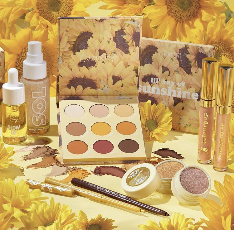 ColourPop Sunflower Collection