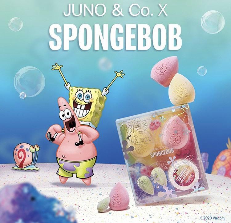 Juno & Co x SpongeBob SquarePants Collection