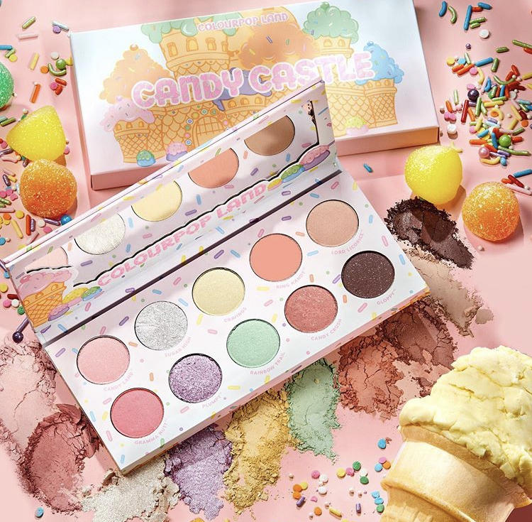 ColourPop x Candyland Collaborative Collection August 2020