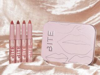 Bite Beauty Millennial Pinks Mini Clean Lip Crayon Set
