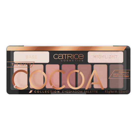 Catrice The Matte Cocoa Collection Eyeshadow Palette