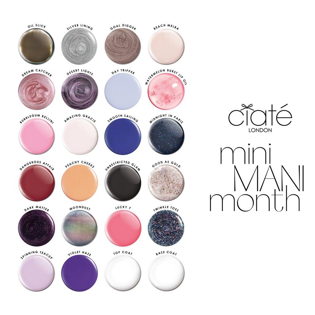 Ciate Mini Mani Month Advent Calendar 2020 Contents Reveal!