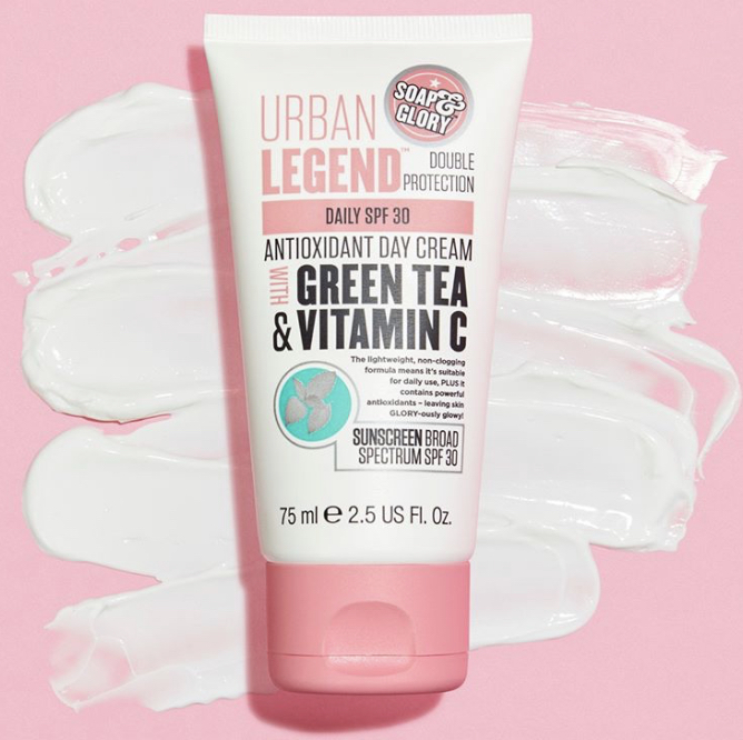 Soap & Glory Urban Legend Double Protection Antioxidant Day Cream
