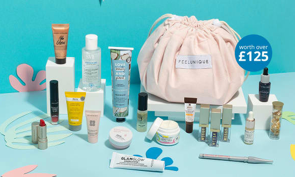 Feelunique Statement Glow Beauty Bag Gift With Purchase