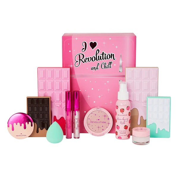 Christmas Gift Makeup Sets 2020 I Heart Revolution And Chill Makeup Gift Set | NEW Exclusive