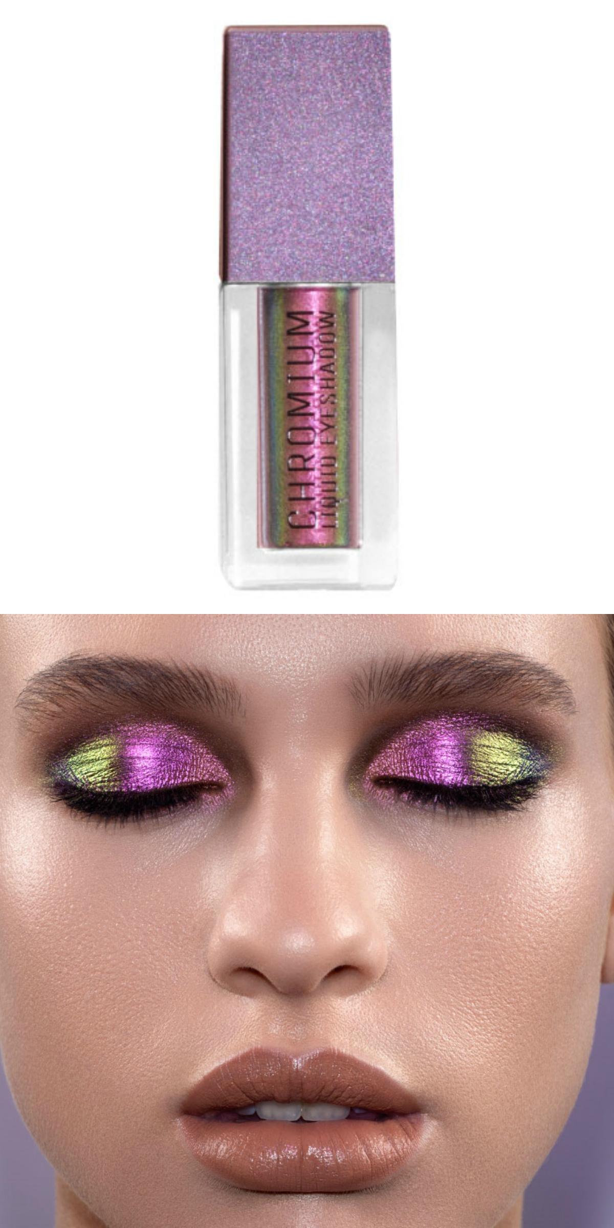 Natasha Denona Chromium Liquid Eyeshadow Collection