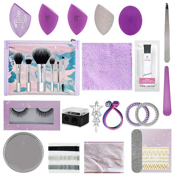 Real Techniques 25 Days of Beauty Advent Calendar 2020 Contents Reveal