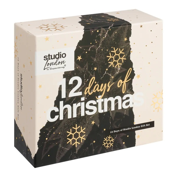 Superdrug Studio 12 Days of Christmas Advent Calendar