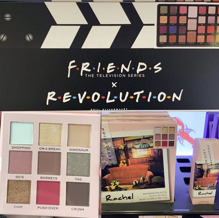 Revolution x Friends Collection Reveal