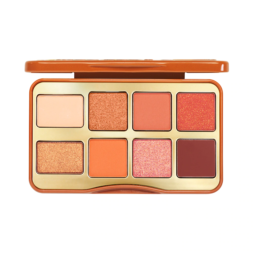 Too Faced Salted Caramel Mini Eye Shadow Palette | Holiday 2020