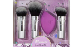Real Techniques Sparkle On The Go Brush Set