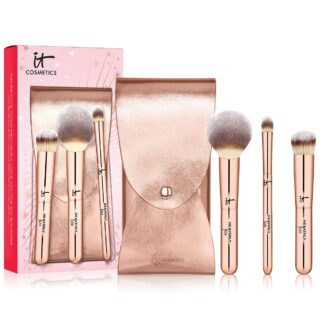 IT Cosmetics Celebrate Your Heavenly Luxe On-The-Go Makeup Brush Set