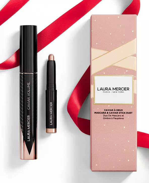 Laura Mercier Caviar À Deux Mascara and Caviar Stick Duet