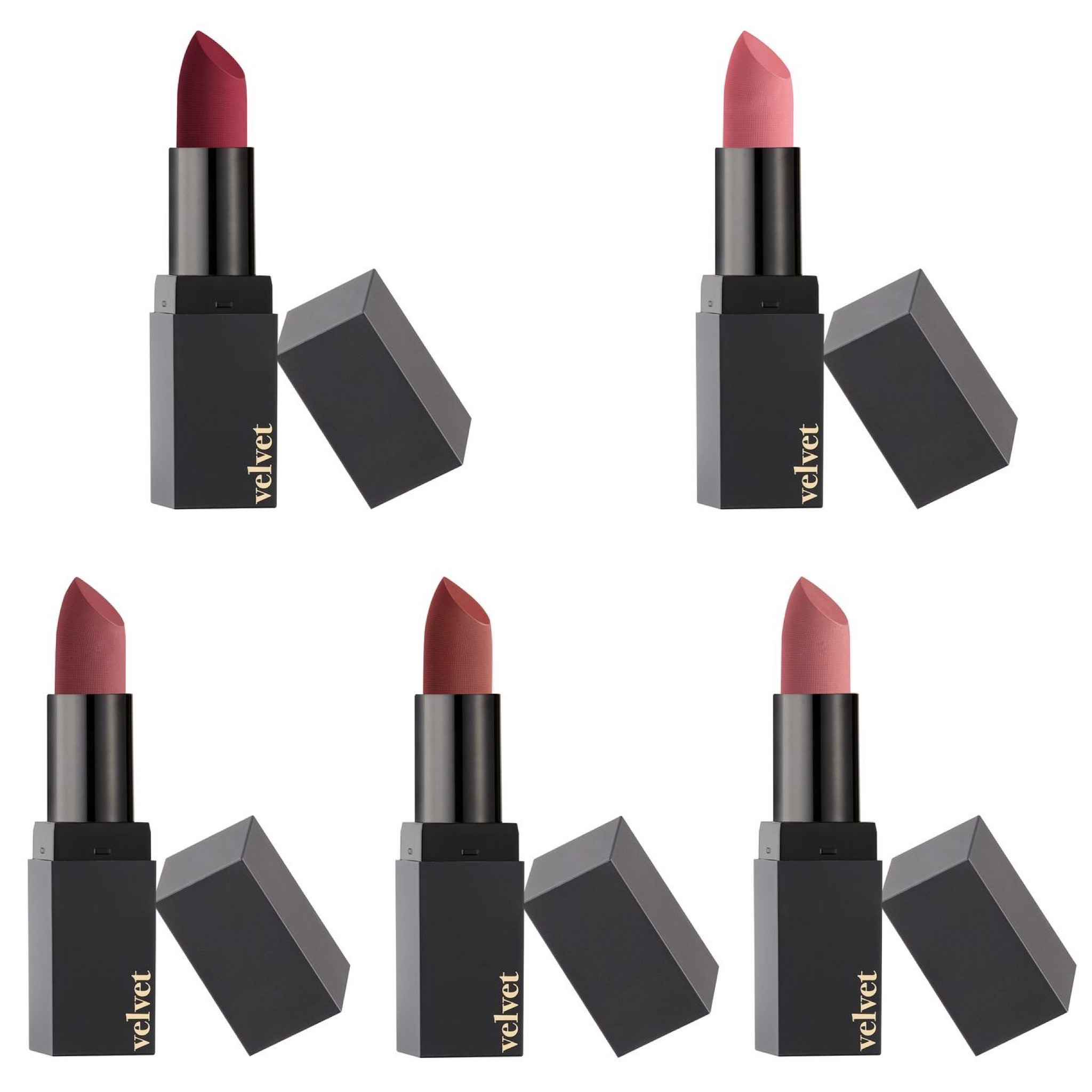 Barry M Velvet Matte Lip Paint Collection