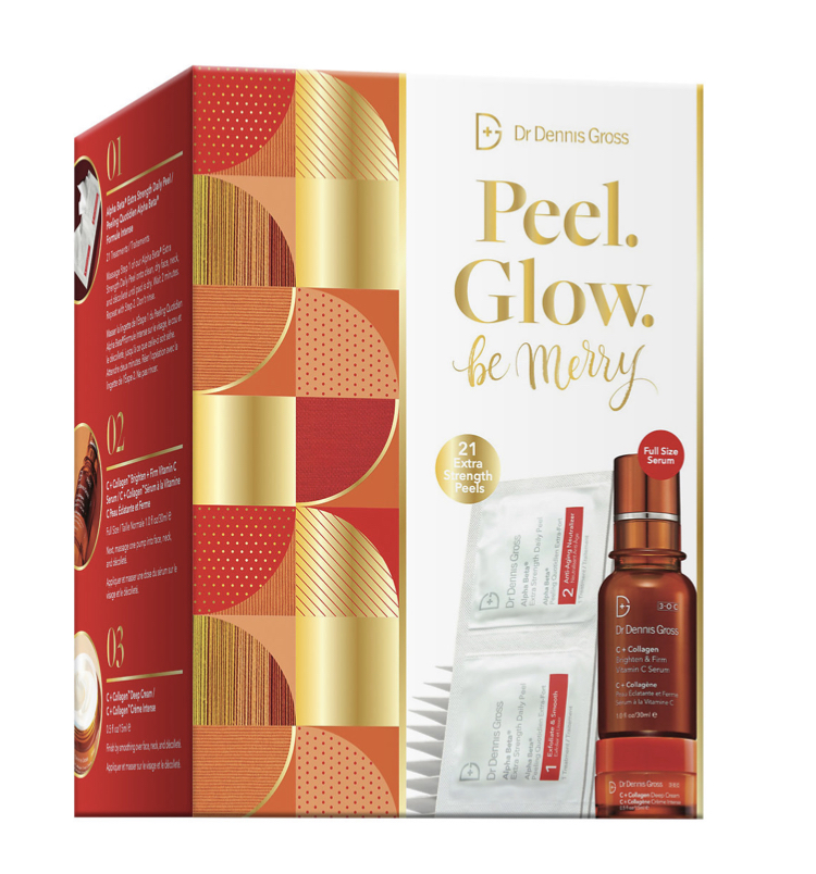 Dr Dennis Gross Peel Glow Be Merry Set