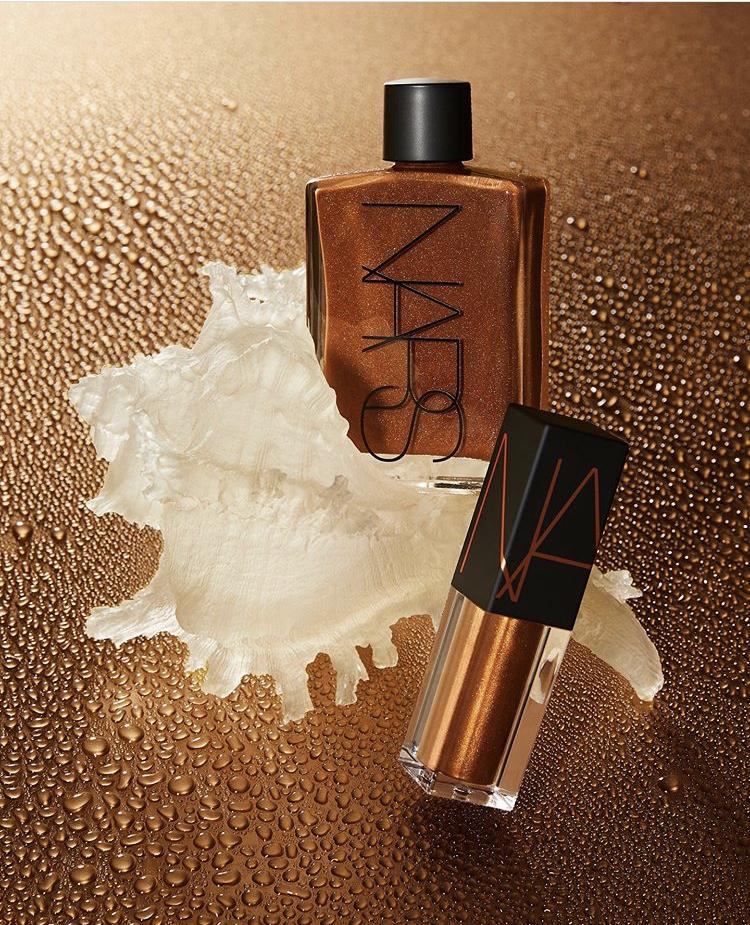 NARS Mini Lip Oil & Mini Body Glow Set