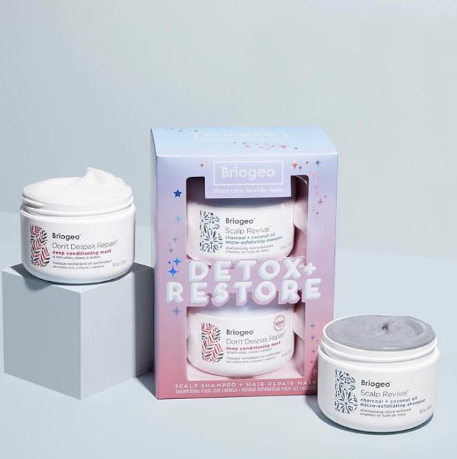 Briogeo Detox and Restore Kit