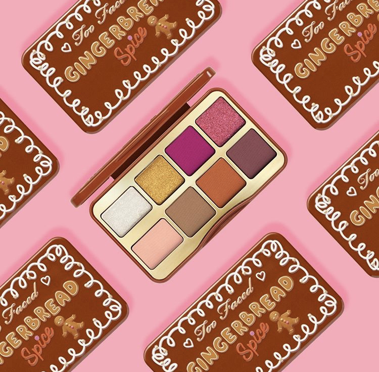 Too Faced Gingerbread Spice Mini Eye Shadow Palette | Holiday 2020