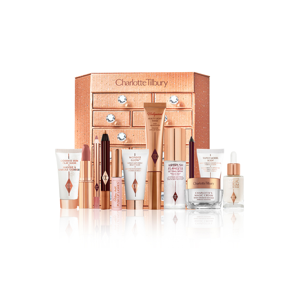 Charlotte Tilbury Charlotte's Bejewelled Chest of Beauty Treasures Advent Calendar