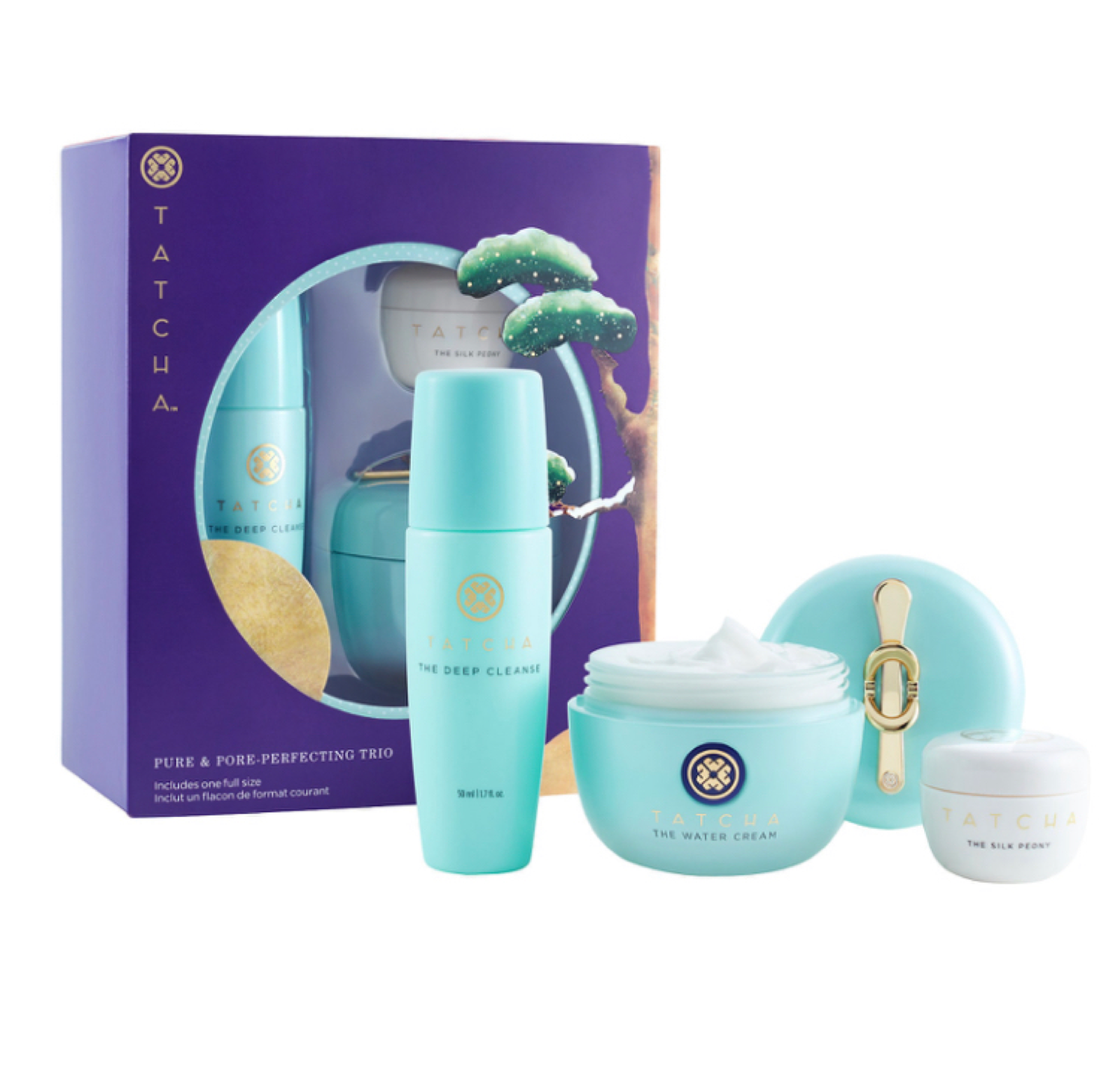 Tatcha Pure and Pore-Perfecting Trio Gift Set | Holiday 2020