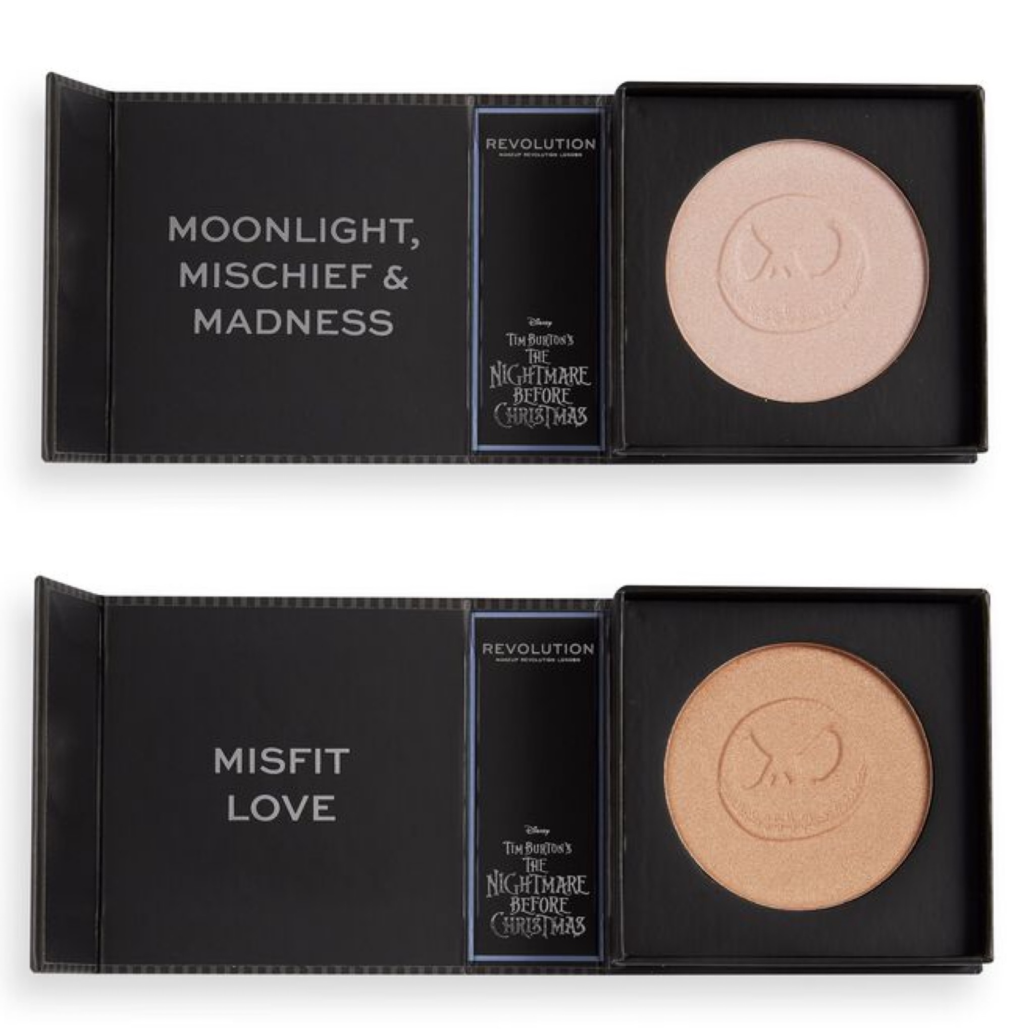 Revolution x The Nightmare Before Christmas Highlighters