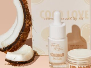 Fourth Ray Beauty Coco Love Face Milk & Lip Mask Duo