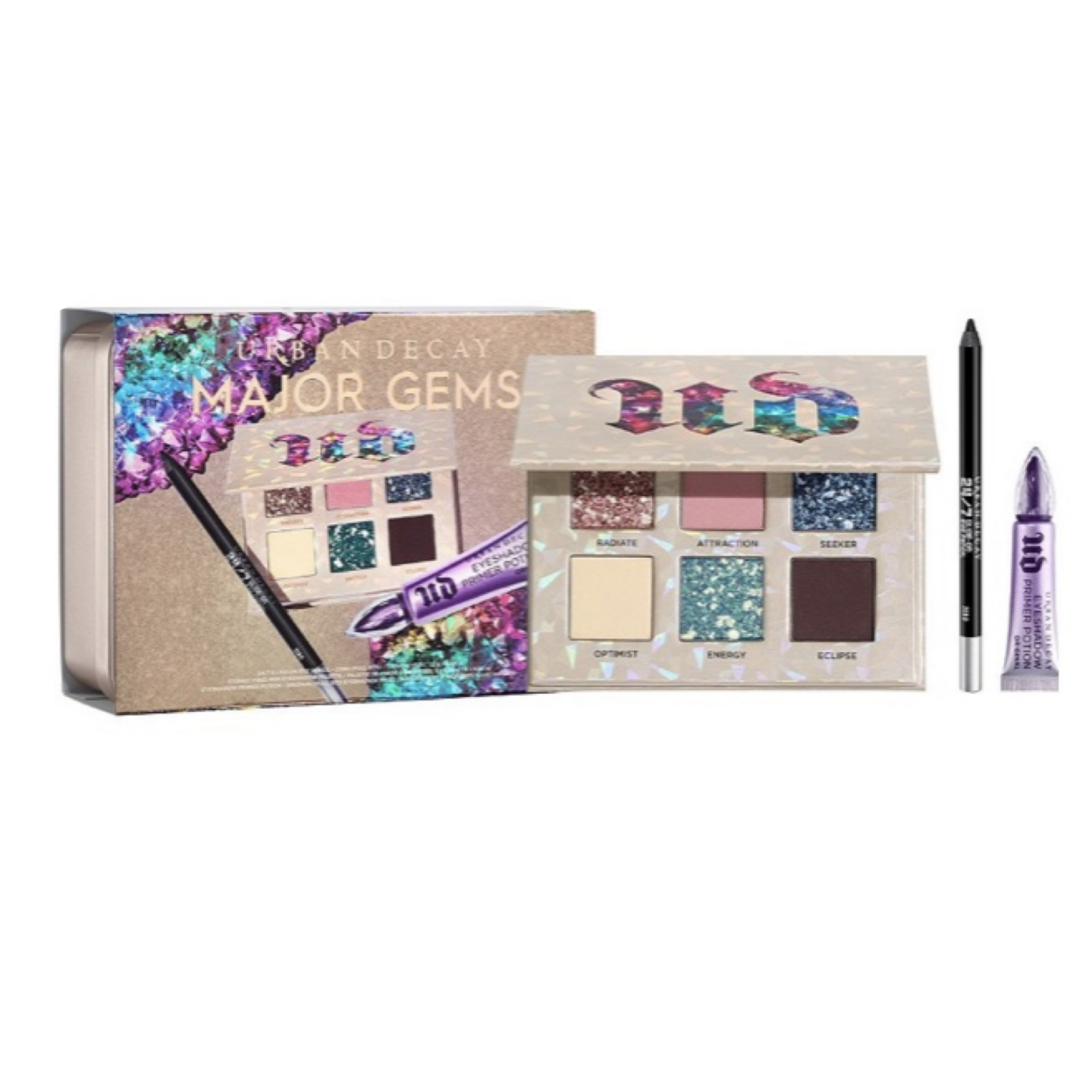 Urban Decay Stoned Vibes Major Gems Gift Set